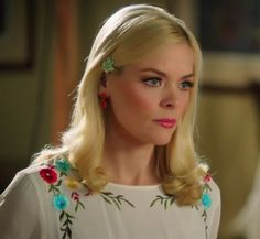 """Lemon's ASOS Maternity Smock Dress with Embroidery """"Hart of Dixie"""" Season 3, Episode 7 """"I Run to You"""" - Spotted on TV"""