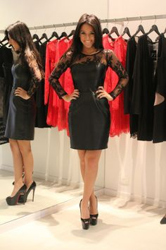 AWESOME lbd: leather and lace