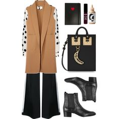 (.242) by isabelski on Polyvore featuring мода, Boutique Moschino, Alexander Wang, ADAM, Yves Saint Laurent, Sophie Hulme, NYX and Marc by Marc Jacobs