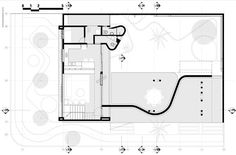 Casa del Arquitecto,Planta - Terreno