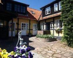 Pension Slaegtsgaarden in Gudhjem, Bornholm, Denmark