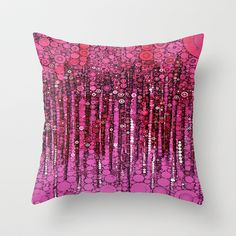 :: PINK :: Throw Pillow by GaleStorm Artworks - $20.00