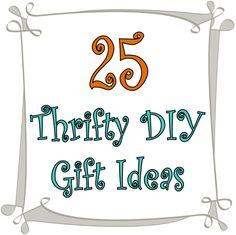25 Thrifty DIY Gift Ideas