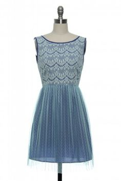 Craving Some Lace Dress in Blue http://www.laceaffair.com/craving-some-lace-dress-in-blue/