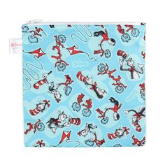 Cat Toys Interactive - Bumkins Reusable Snack Bag Large, Seuss Cat in the Hat * More info could be found at the image url. (This is an affiliate link) #CatToysInteractive