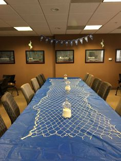 themed baby shower A fishing net and pharmacy pots full of sand and . Ocean themed baby shower A fishing net and pharmacy pots full of sand and .,Ocean themed baby shower A fishing net and pharmacy pots full of sand. Sailor Baby Showers, Ocean Baby Showers, Mermaid Baby Showers, Fishing Baby Showers, Baby Shower Mermaid Theme, Baby Shower Decorations For Boys, Boy Baby Shower Themes, Baby Shower Parties, Baby Boy Shower