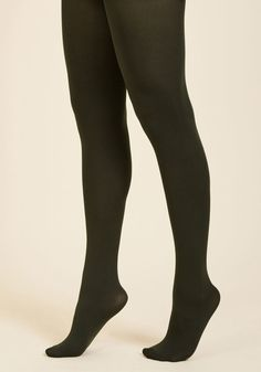 977129dbb9932 Accent Your Ensemble Tights in Olive in XL Orange Tights, Blue Tights,  Modcloth,