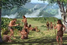 Research carried out by a team of Spanish paleontologists at a cave in Asturias adds to the growing consensus that Neanderthals and Homo sapiens interbred Paleolithic Period, Primitive Survival, Human Evolution, Ice Age, Fauna, First Nations, Ancient History, Ecology, British Columbia