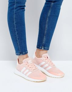 aec7d280663fcf adidas Originals Coral Flashback Sneakers Pink Adidas