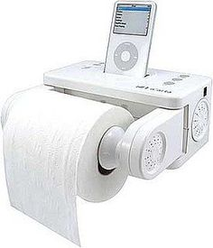 """High-Tech Gadgets For the Bathroom Photo 3. As John McEnroe would say, """"You can't be serious!"""""""