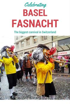Basel Fasnacht is the biggest carnival in Switzerland, celebrated in February/March every year.