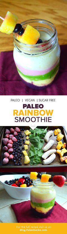 Paleo Rainbow Smoothie