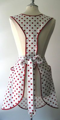 Eunice Retro Apron - BellaPamella - Retro, Vintage, Old-Fashioned, Classic  Bib Aprons for Adults  Kids