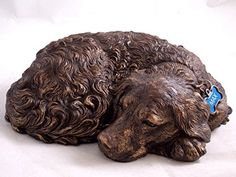 """Eagan, MN - Timberland Urns is introducing a Golden Retriever Dog Memorial Urn as a new addition to their """"Dog Urns by Individual Breed"""" line! With this Golden Memorial Urns, Dog Memorial, Dogs Golden Retriever, Retriever Dog, Dog Urns, Dog Itching, Dog Training Pads, Dog Shower, Dog Items"""