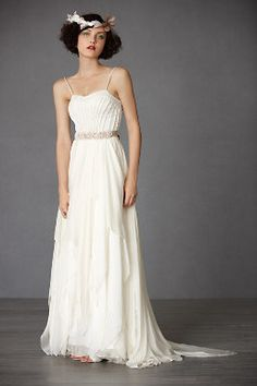 Cascading Goddess Gown from BHLDN