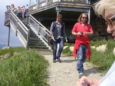 Der Bergdoktor zu Besuch am Hexenwasser. für Dreharbeiten. http://bergdoktor.zdf.de/