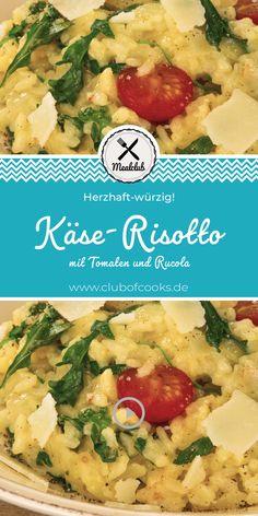 """Wer kennt es nicht? Käse-Risotto ist ein wahrer Klassiker und schmeckt nicht nur beim Italiener um die Ecke gut. Überzeugt euch selbst und macht es jetzt selbst nach. Dazu einfach auf """"Besuchen"""" klicken und ihr gelangt direkt zu unserem Rezept auf YouTube!"""