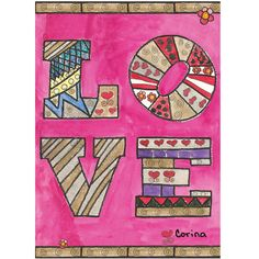 "Love Note Card By Corina Price : $8.00 8 folded cards (4.25"" x 6.25""), 8 envelopes (pink, purple & off white)"