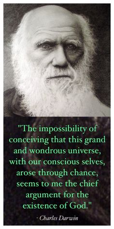 Charles darwin and mans rise to intellect