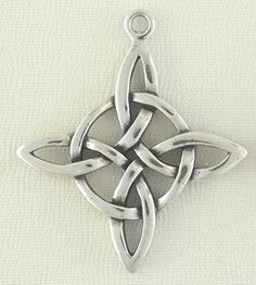 Sterling Silver Jewelry Charm-Quatrefoil