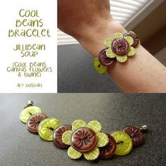 button bracelet - says there are directions on her blog but I looked through 3 pages and still couldn't find them