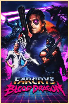 Far Cry 3 Blood Dragon Ubisoft Montreal