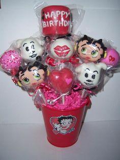 Betty Boop (Cake Pops)