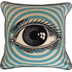 Pop Art Eye Pillow from Spitfire Girl. Shop more products from Spitfire Girl on Wanelo. Art Pop, Casa Halloween, Boutique Deco, Creepy, Pillow Fight, Pillow Talk, My New Room, Graphic Prints, Decorative Pillows