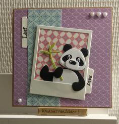 knutsels van zolder: baby panda