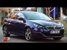 NEW #PEUGEOT 308 GT 2015 - FIRST TEST DRIVE ONLY SOUND