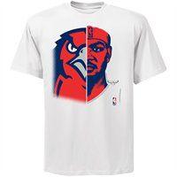 Majestic Josh Smith Atlanta Hawks Game Face T-Shirt