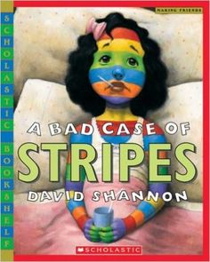 A Bad Case of Stripes (Scholastic Bookshelf): David Shannon: 9780439598385: Amazon.com: Books