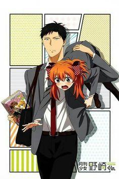 Gekkan Shoujo Nozaki-kun indeed to look this manga up because it looks funny