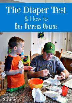 The Diaper Test & How to Buy Diapers Online | Marriage & Family Strong | baby supplies | saving online