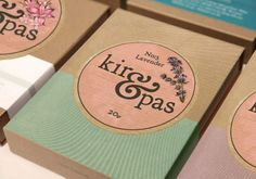 Packaging of the World: Creative Package Design Archive and Gallery: Kir & Pas Soap