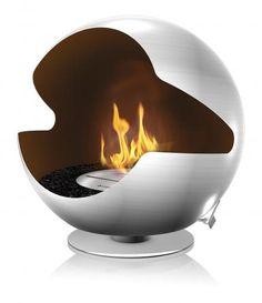 Vauni - Globe Granit Fireplace by Markus Grip. #productdesign #industrialdesign