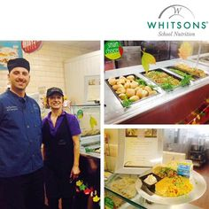 """Students @Brown Middle School in Newton, MA enjoyed the Taste of the States """"Spice"""" special. The menu included BBQ Pulled Pork Sliders, Jalapeño #cheddar corn bread, fiesta corn and #Pumpkin mousse. Big Thanks to @Angela Massarotti and her #Team. Well done.  www.whitsons.com Like Us on Facebook @ WhitsonsCulinaryGroup  Tweet us on Twitter @Whitsons"""