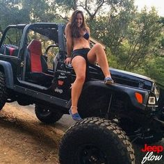 Jeep - Cute // Sexy // Brunette // - Love the toms! #affiliate