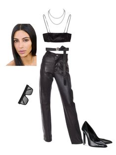 """""""Untitled #1655"""" by elinaxblack ❤ liked on Polyvore featuring Helmut Lang, Julius, Off-White and Victoria Beckham"""