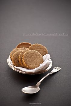 Mon petit bistrot: French shortbread muscovado cookies