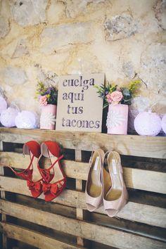 Photography: Jimena Roquero Photography - jimenaroquero.com  Read More: http://www.stylemepretty.com/destination-weddings/2014/03/31/romantic-rustic-wedding-in-guadalajara-spain/