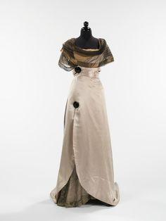 Callot Soeurs evening dress ca. 1914 via The Costume Institute of the Metropolitan Museum of Art