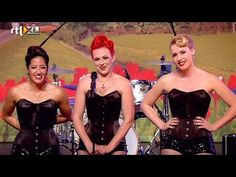 ▶ Liptease - 'Happy' in fifties stijl | Audities | HOLLAND'S GOT TALENT 2014 - YouTube