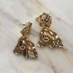 Lilja Lava Earrings - The Hexad Jewelry