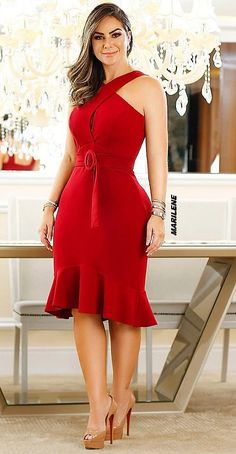 70 Ideas dress red casual long for 2019 Lovely Dresses, Elegant Dresses, Sexy Dresses, Casual Dresses, Short Dresses, Fashion Dresses, Summer Dresses, Party Dresses, Diva Fashion