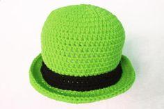 Lucky Bowler Crochet Hat