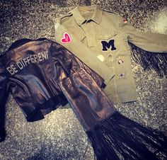Army lether style
