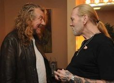 Gregg Allman & Robert Plant