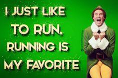 Just like to RUN, running is my favorite.