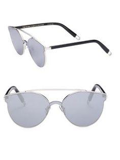 GENTLE MONSTER Tilda Swinton X Gentle Monster Trick Of The Light 61Mm Mirrored Sunglasses. #gentlemonster #sunglasses